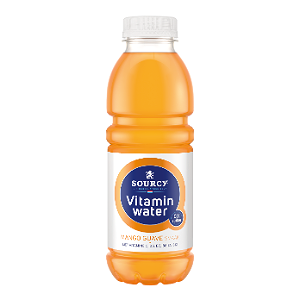 Foto Sourcy Vitamin water 0% Mango/Guave Fles 500ml
