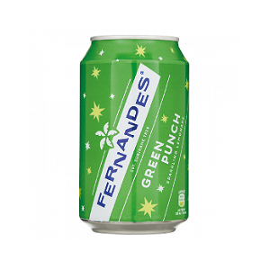 Foto Fernandes Groen Green Punch blik 330ml